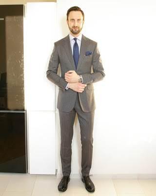 popular suit colors men grey