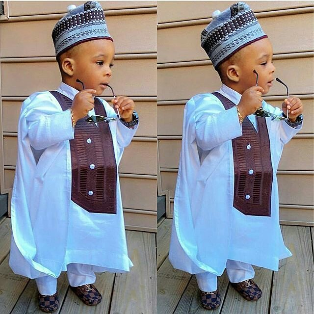 latest agbada designsfor kids
