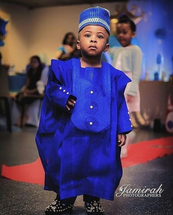 latest agbada designs dark blue agbada styles for boys photo