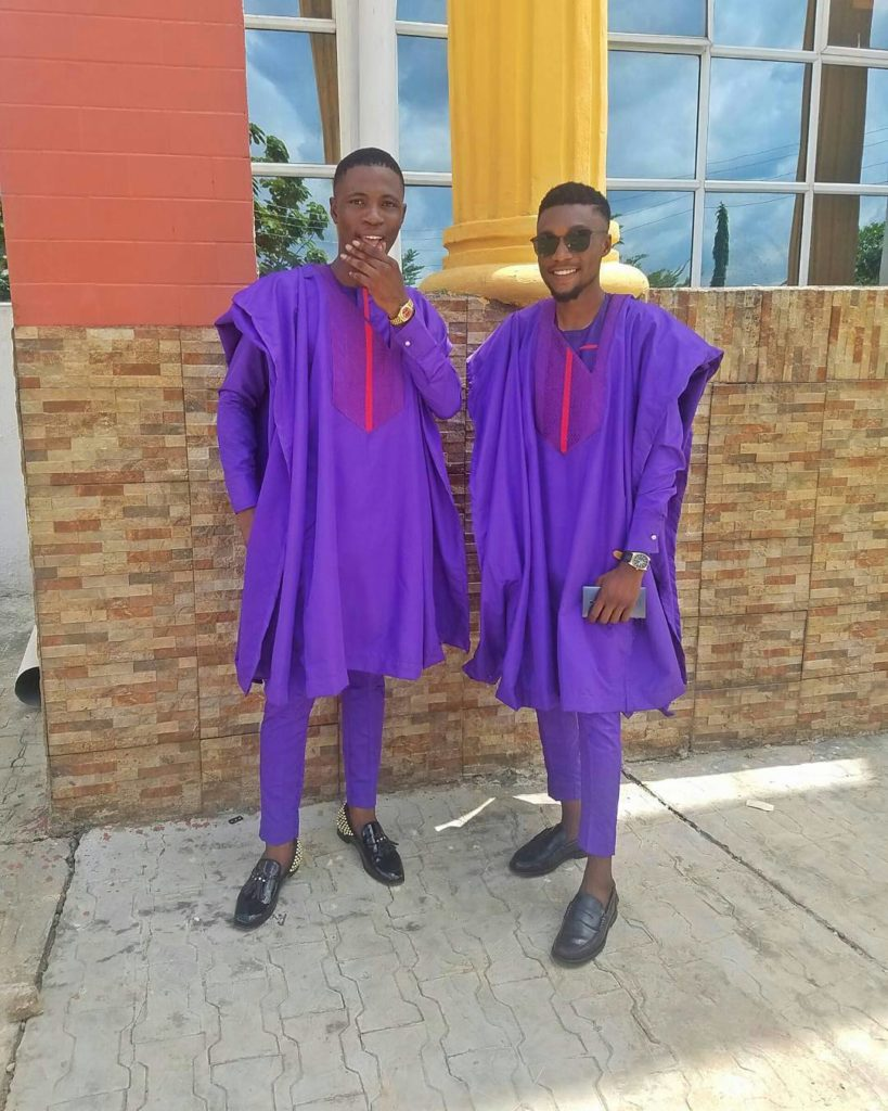 male agbada styles