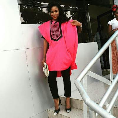 Latest Agbada Styles For Females [December] 2018 | Couture ...