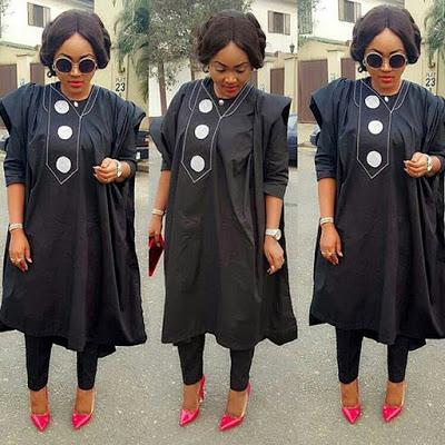 latest female agbada styles