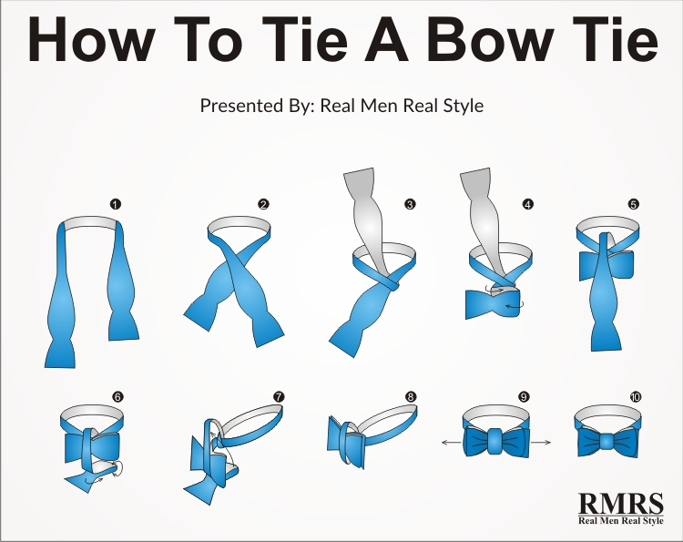 How to tie a tie step by step best tie knots video pictures bow tie image infographic ccuart Choice Image