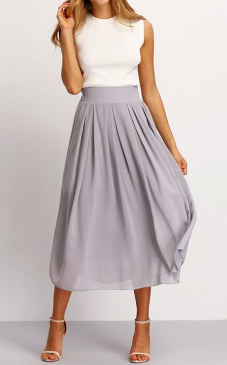 long skirt fashion