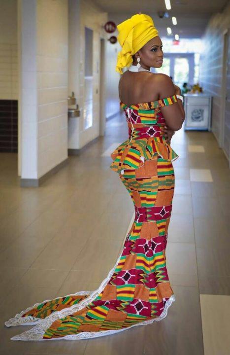 Kente Styles 2018 New Kente Designs For Ladies August