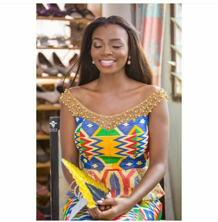 Kente styles 2018 new kente designs for ladies august for Styles de robes africaines pour mariage