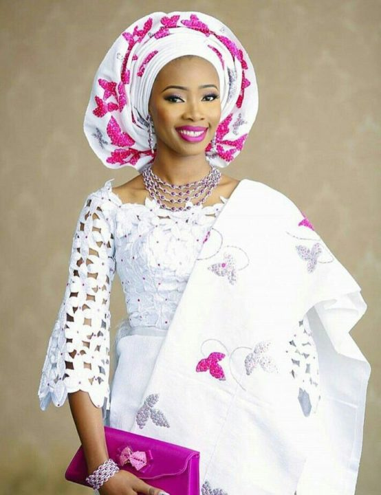 aso ebi gallery pink and white image