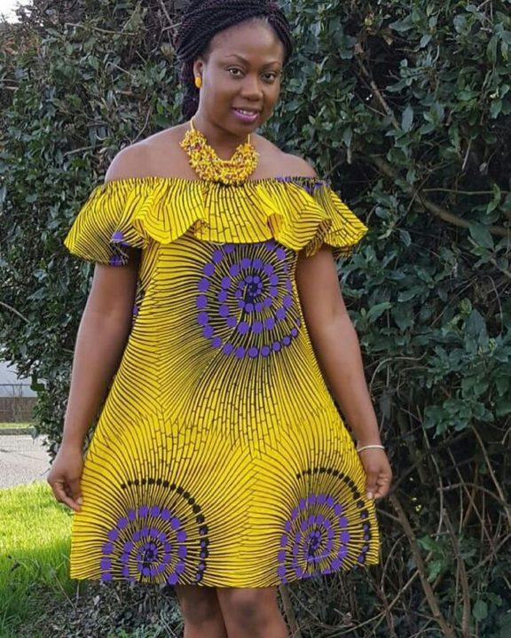 Kitenge Fashion And Styles For Women Nov. 2018