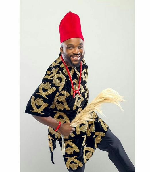 Nigerian native styles for male image 1 isiagu attire