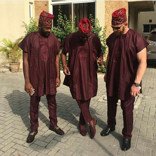 latest Nigerian mens wear image 12 agbada