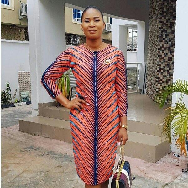 Nigerian Fashion Trends 2017: Latest Nigerian Fashion Styles ankara gown