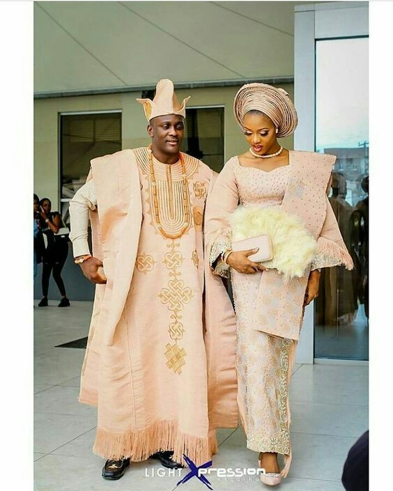 Nigerian Traditional Wedding Dresses: Yoruba Traditional Wedding Attire 2018