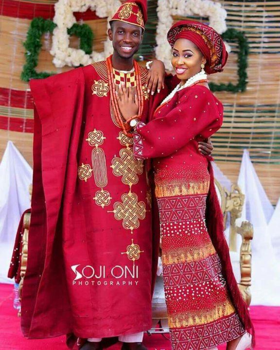 Yoruba Traditional Wedding Attire Styles Nov. 2018