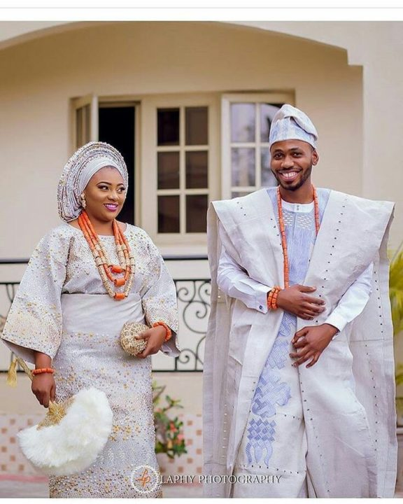 Nigerian Traditional Yoruba Wedding: Yoruba Traditional Wedding Attire Styles Nov. 2018