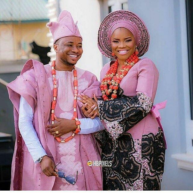 Nigerian Traditional Wedding Dresses: Yoruba Traditional Wedding Attire Styles Nov. 2018
