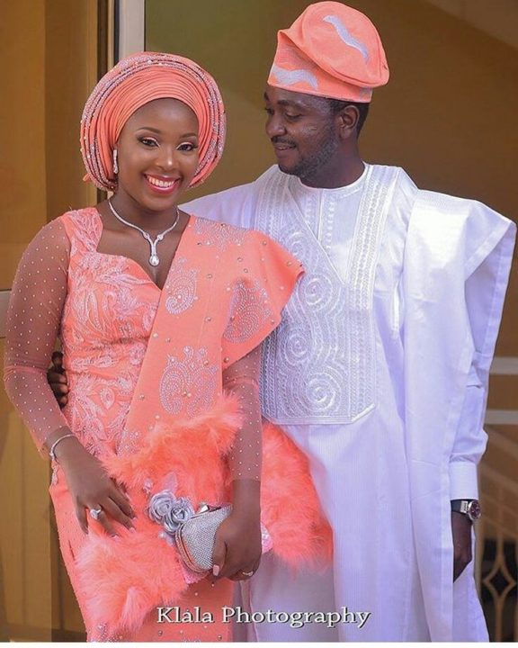 Nigerian Traditional Yoruba Wedding: Nigerian Lace Styles For Wedding [Updated 2020]