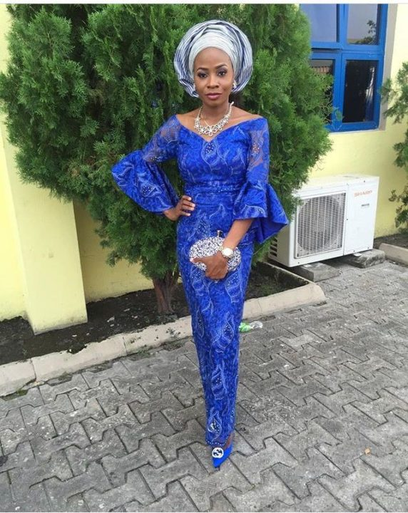 nigerian lace styles for wedding 2018