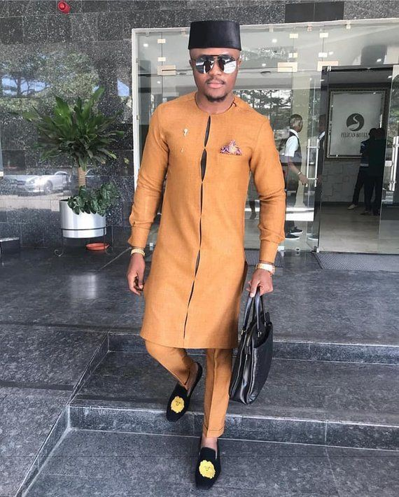 Latest Ankara Styles For Men October 2018